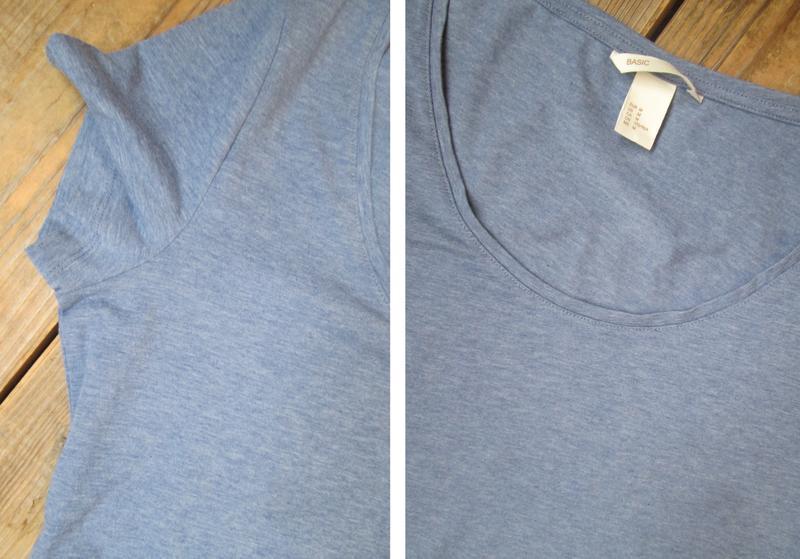 Базовая футболка h&m размер м/38 состояние идеальное - Фото 9