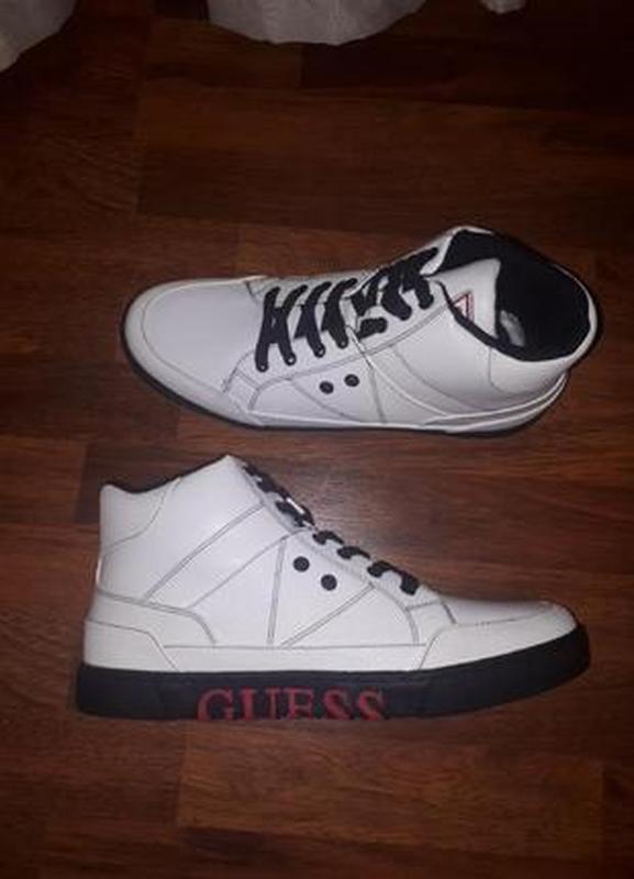 Кеды ботинки guess m13