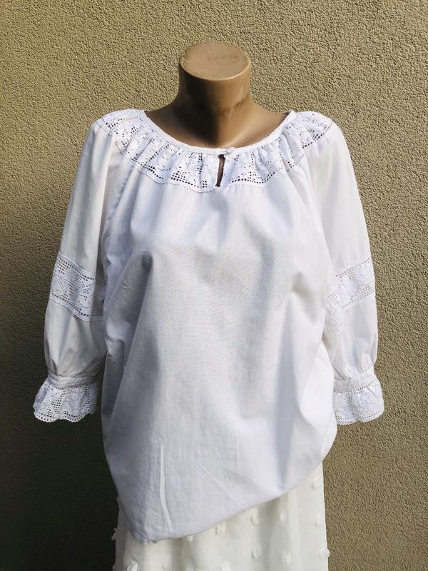 Винтажная блузка вышиванка