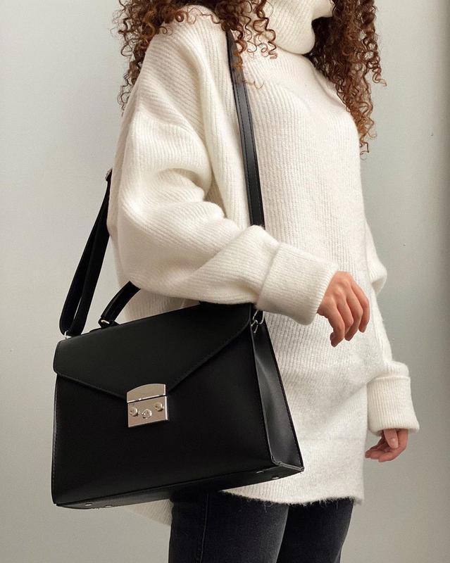 5 цветов! черная сумка деловой клатч сумочка
