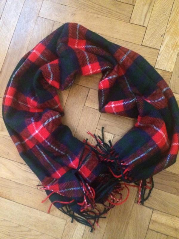 Стильний теплий шарф, накидка, палантин, платок ,германия