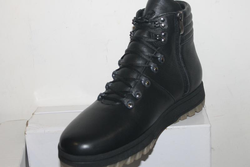 Премиум качество. зима. мужские кожаные зимние ботинки