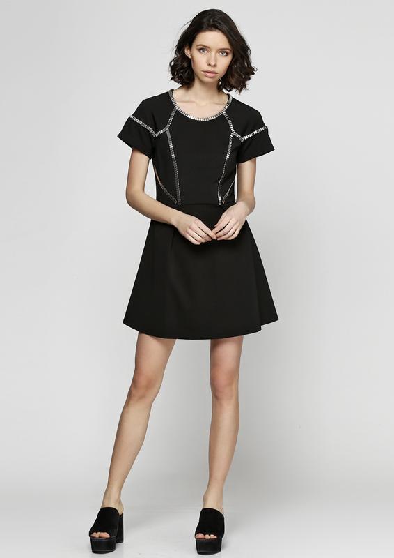Стильное женское платье silvian heach размер l
