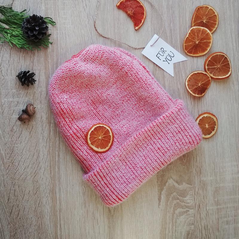 Зима 2020! шапка бини зимняя