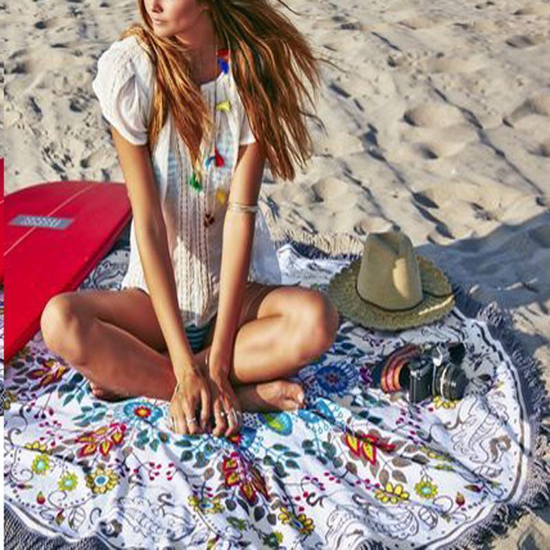 Пляжний килимок коврик подстилка на пляж арт. 1480 - Фото 2