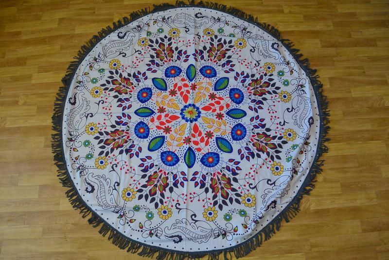 Пляжний килимок коврик подстилка на пляж арт. 1480 - Фото 5