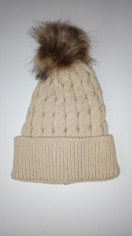 В'язана шапка 1370н - Фото 2