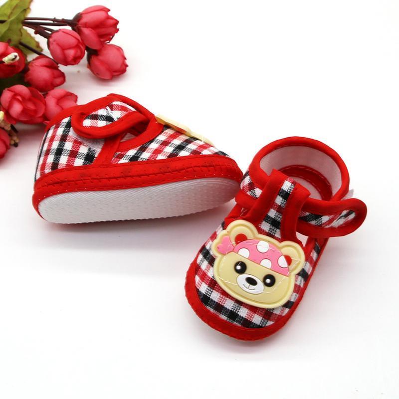 16 первая обувь малыша/ повседневные пинетки/ тапочки - Фото 3