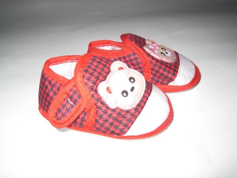 16 первая обувь малыша/ повседневные пинетки/ тапочки - Фото 6
