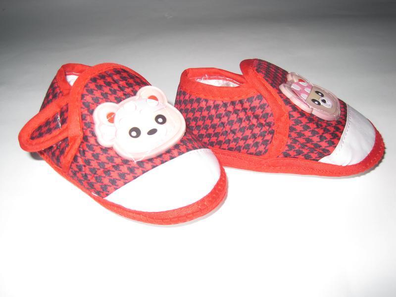 16 первая обувь малыша/ повседневные пинетки/ тапочки - Фото 8