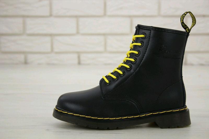 Зимние ботинки на меху ► Dr. Martens (Код: 11966) Размеры 36-46