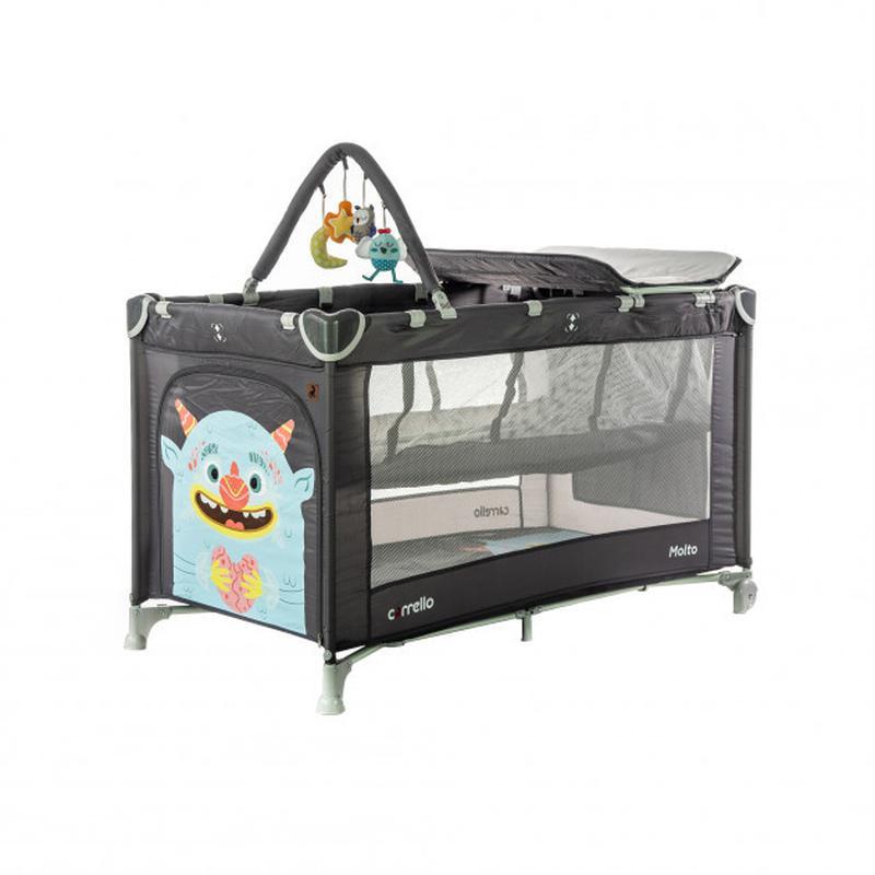 Детская кровать манеж для ребенка CARRELLO Molto CRL-11604 Mag...