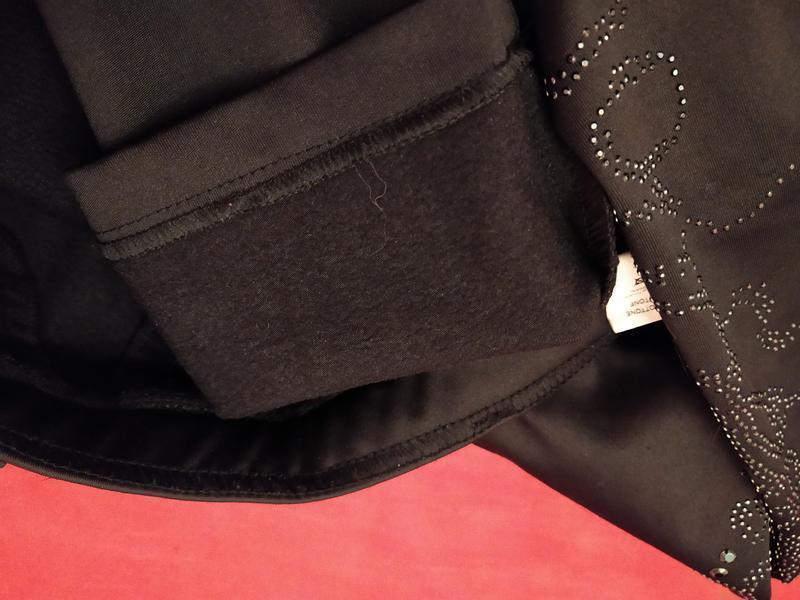 Очень! теплые скинни на байке джинсы брюки крутой мощный декор!!! - Фото 5