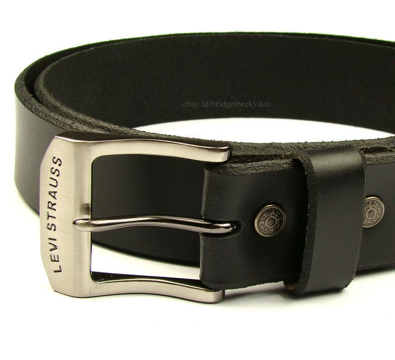 Ремень пояс levi strauss кожаный levis! на пояс 83-93 см.