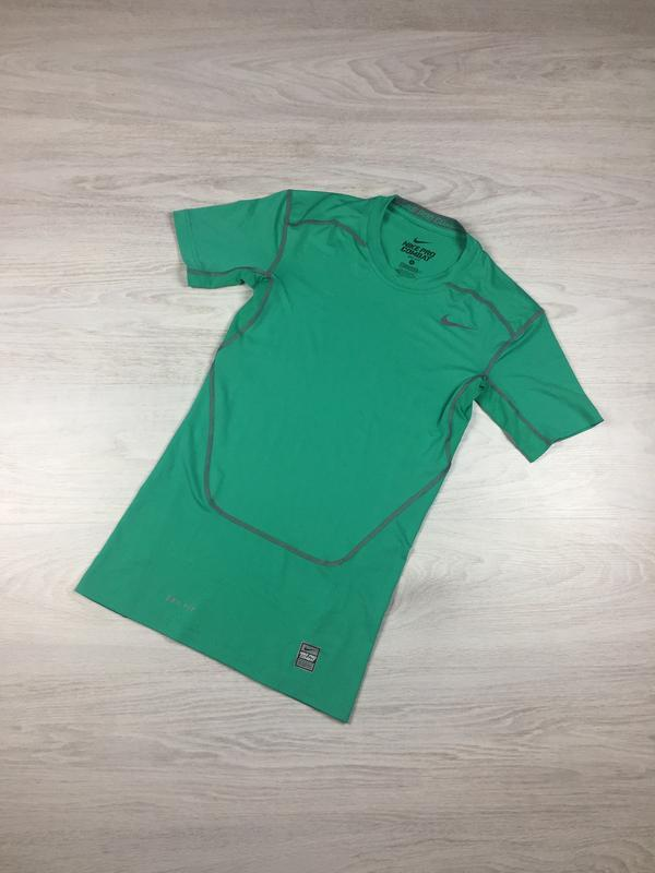 Компрессионная футболка nike pro combat dri fit 449792-397