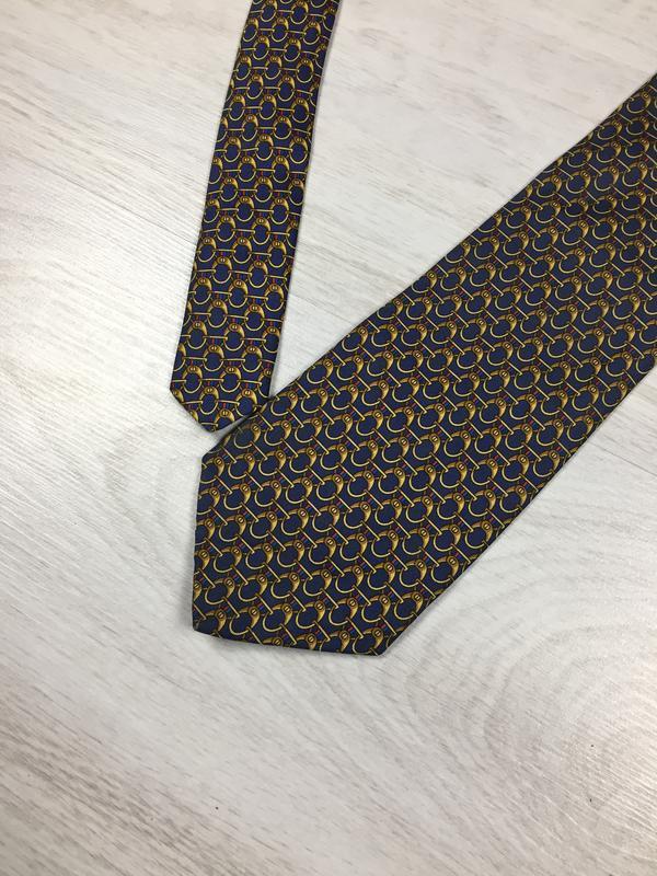 Брендовый шелковый галстук marks & spancer silk!