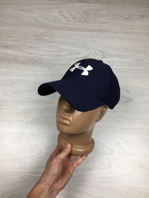 Крутая женская бейсболка кепка under armour! синяя
