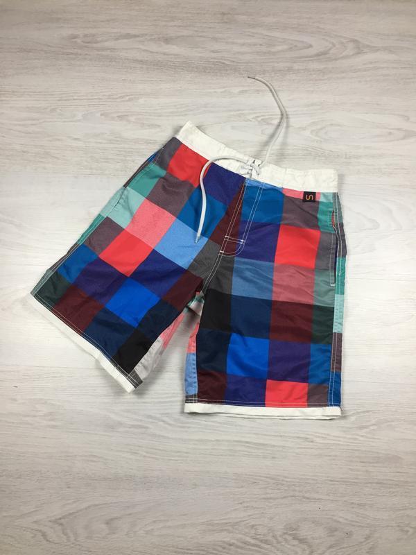 Красивые яркие мужские пляжные шорты с карманами undiz