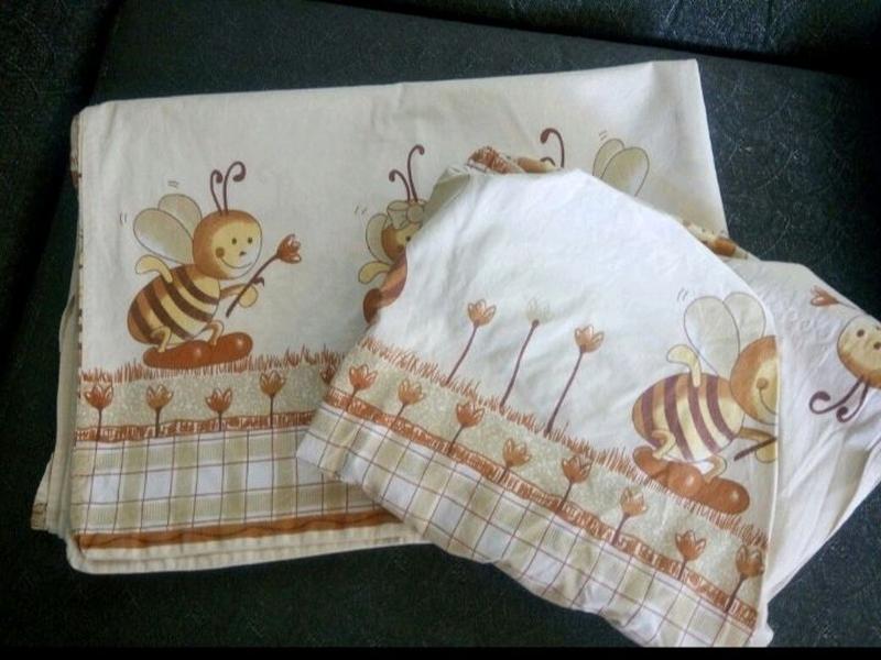 Комплект постельного детского белья.
