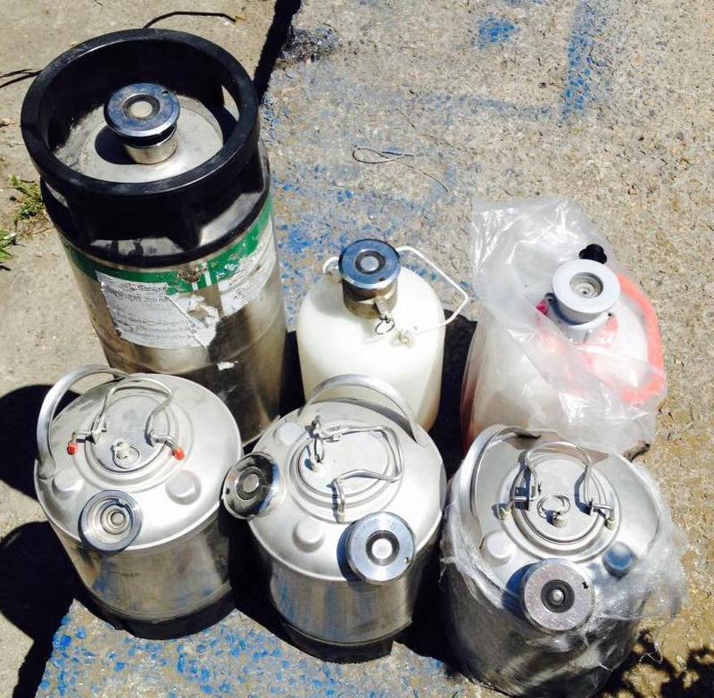 Добавление приваривание горловина фитинг промывочный бачек 20 кег - Фото 6