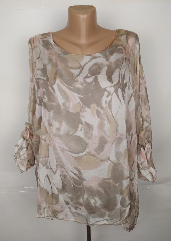 Блуза красивая итальянская оригинальная uk 14/42/l