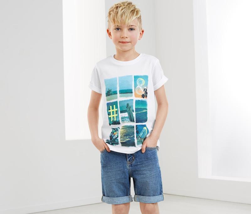 Крутяк. моднявые джинсовые шорты мальчугану tchibo, германия