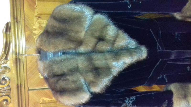 Норковая шуба Saga Furs Royal Эксклюзив - Фото 3