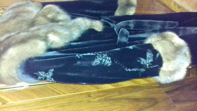 Норковая шуба Saga Furs Royal Эксклюзив - Фото 4