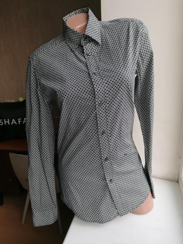 Натуральная рубашка с длинным рукавом с мелким принтом diesel ...