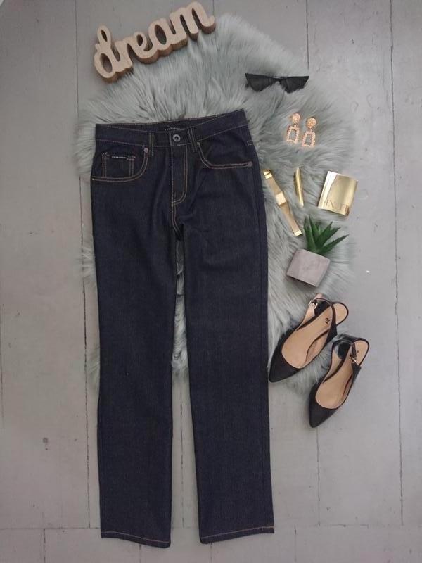 Базовые прямые качественные джинсы №47max