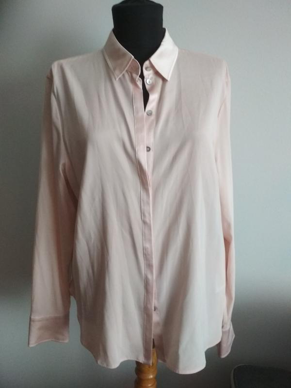 Шелковая блуза рубашка от basler