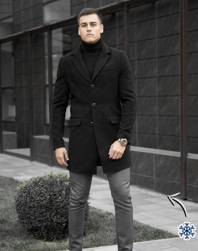 Пальто зимнее кашемир