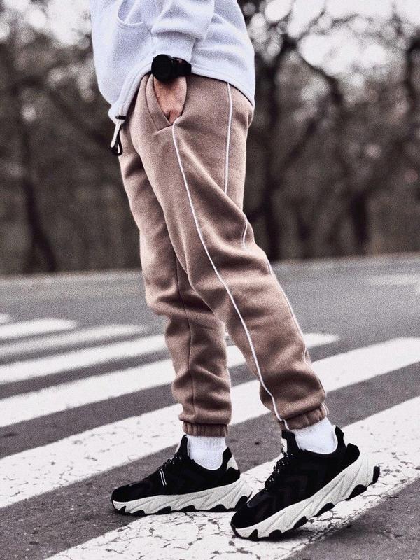 Теплые ШОКОЛАДНЫЕ штаны с начесом.