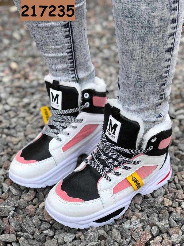 Зимние кроссовки-ботинки - Фото 3