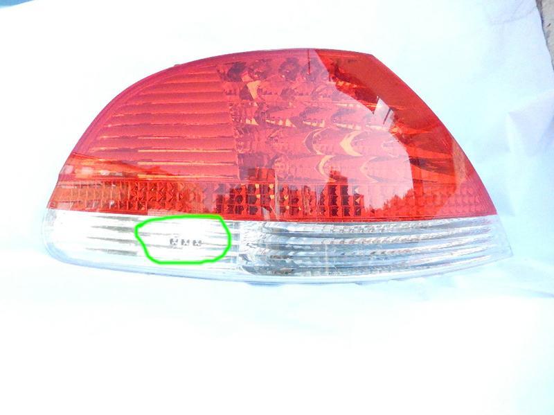 Задняя фара, фонарь 63217164739 белый, левый Bmw 7 E65, E66 - Фото 2