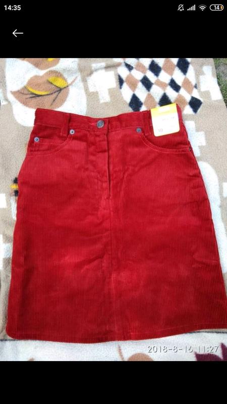 Фирменная юбка для девочки