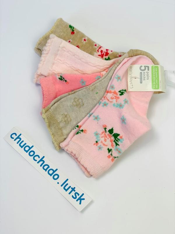 Носочки для девочки, упаковкой
