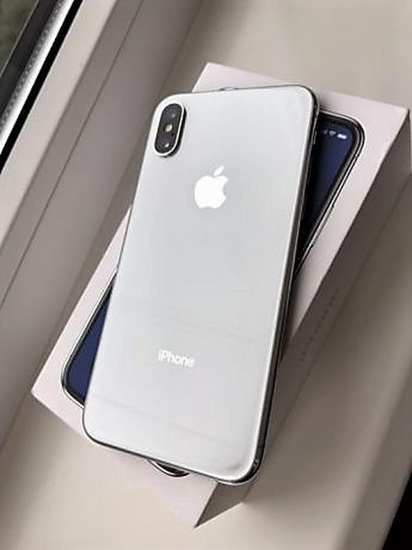 Apple iPhone X 64GB SPACE GRAY Silver