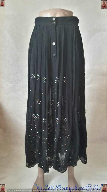 Фимренная cartoon шикарная длинная юбка плиссе со 100 % вискоз...