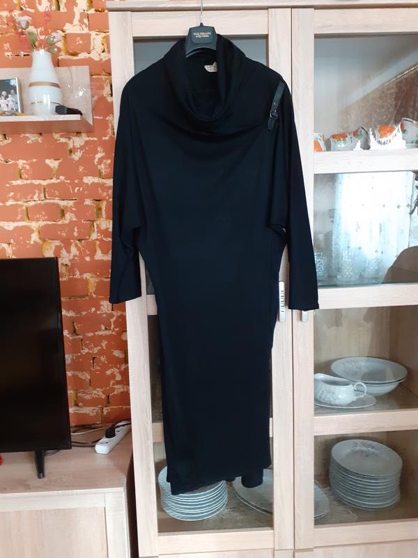Стройнящее необыкновенное платье с карманами большого размера