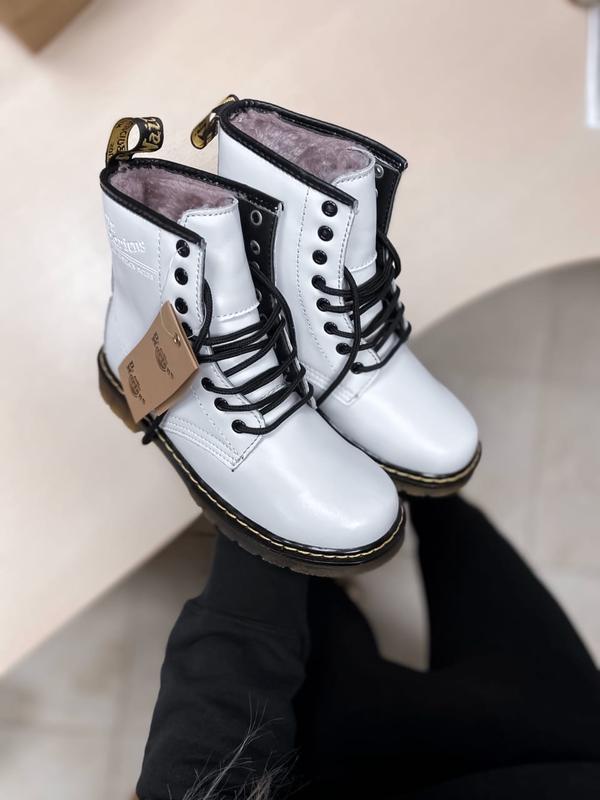 Ботинки женские зимние dr. martens