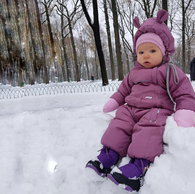 Теплый зимний комбинезон sorelle на синтепухе