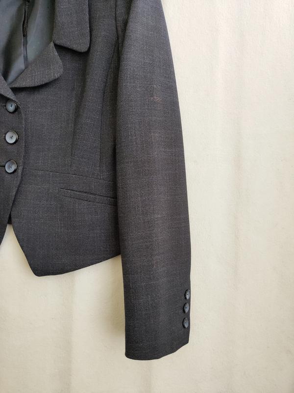 Новый тёмно-синий пиджак next - Фото 4