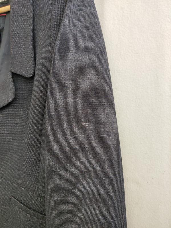 Новый тёмно-синий пиджак next - Фото 7