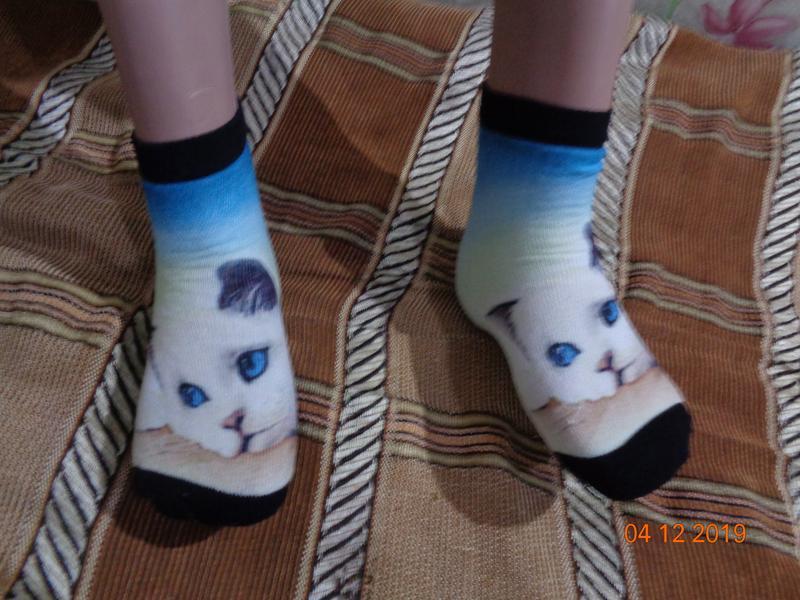 Оригинальные махровые носочки.