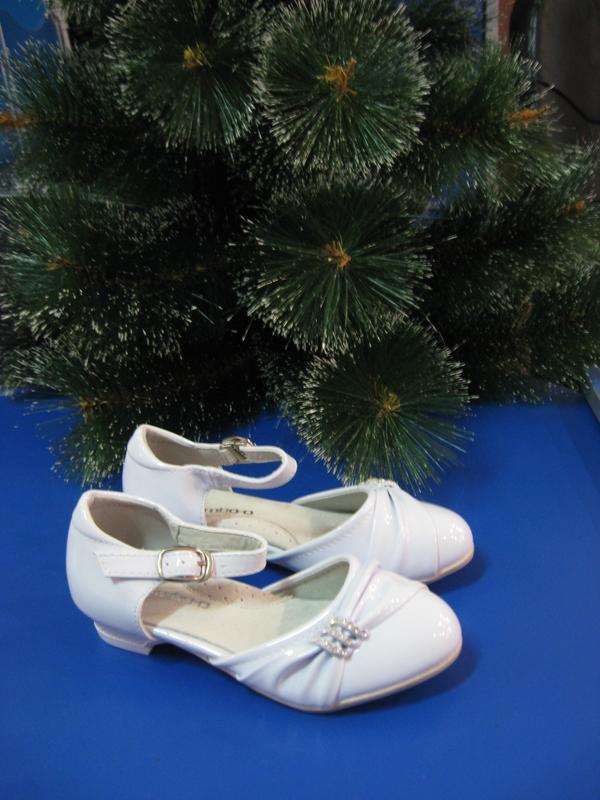 Нарядные туфельки на каблучке р.25-32.