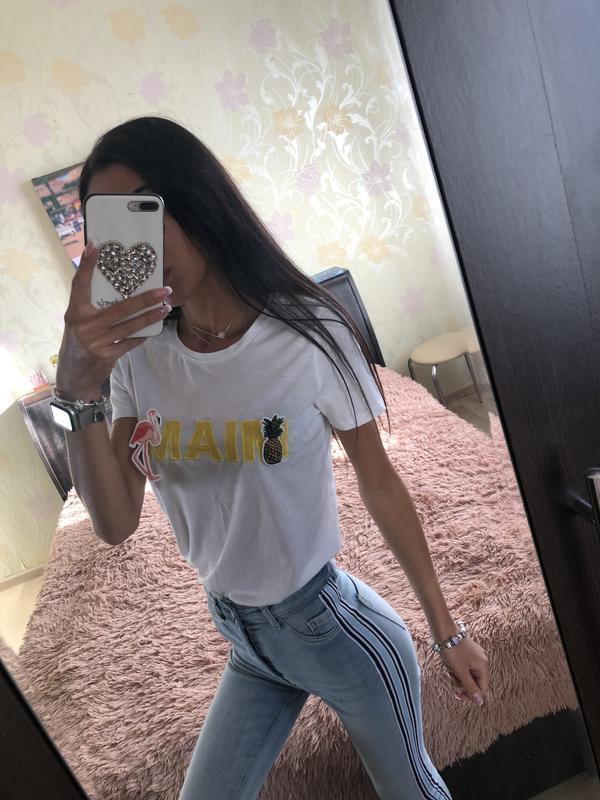 Стильная футболка 🍍🙈 мега летняя распродажа!!!