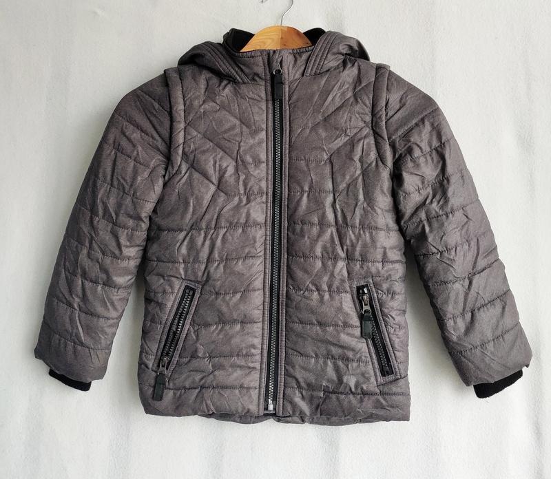 Куртка трансформер 6-7 лет безрукавка жилет john rocha
