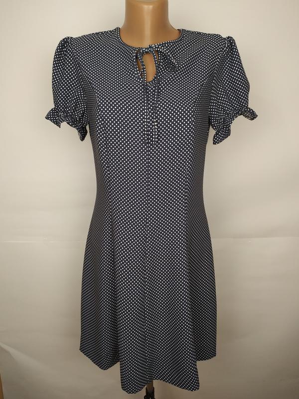 Платье красивое в горошек marks&spencer uk 10/38/s
