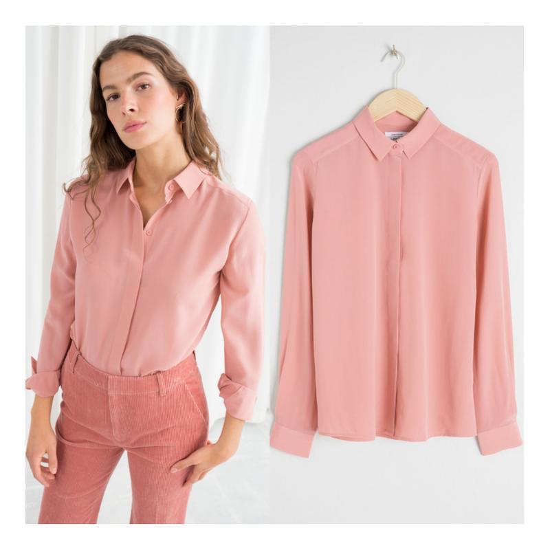 Щелковая блузка